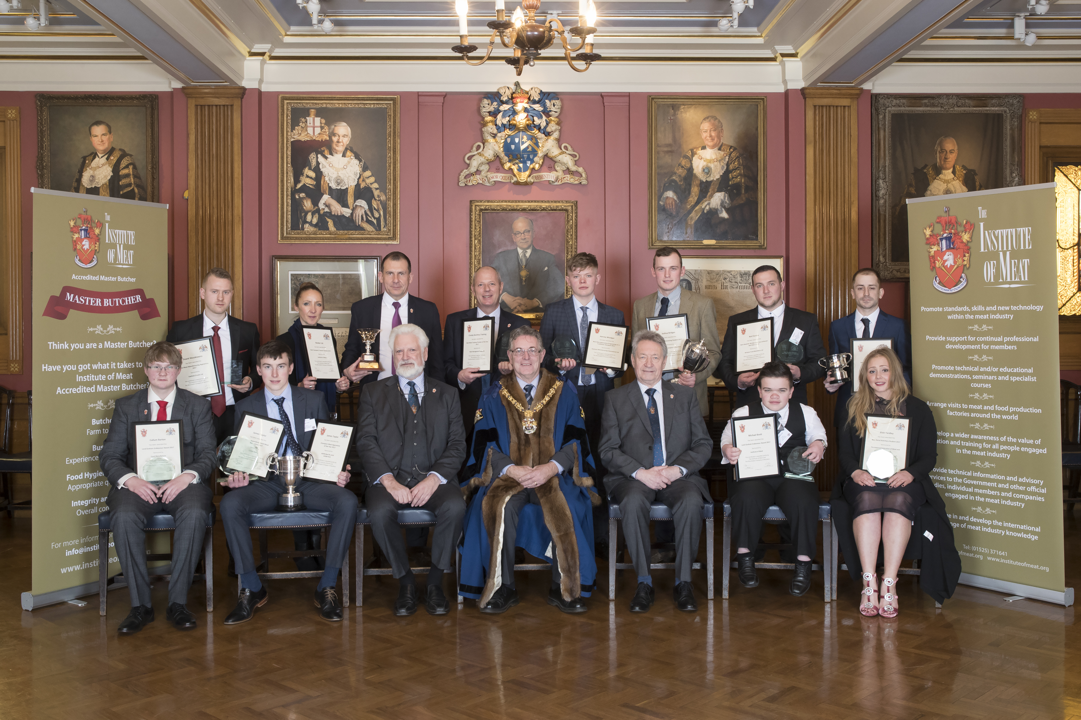 Institute of Meat Prize Winners at 2018 Awards