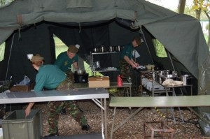 Army Catering Visit